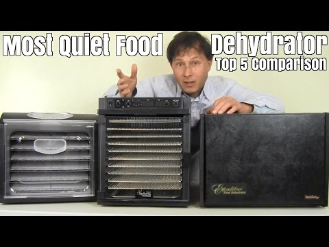 What is the Most Quiet Food Dehydrator? Top 5 Comparison
