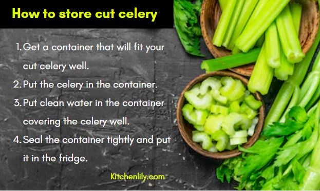 How to store celery keep it fresh for long